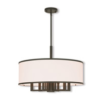 Park Ridge 7 Light 24 inch Bronze Pendant Chandelier Ceiling Light
