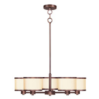 Livex Lighting Park Ridge 5 Light Chandelier in Vintage Bronze 6275-70