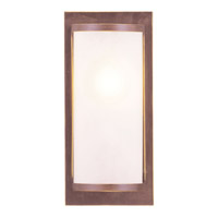 Livex 6280-70 Somerset 1 Light 6 inch Vintage Bronze ADA Wall Sconce Wall Light