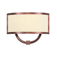 Livex Lighting Park Ridge 1 Light Wall Sconce in Vintage Bronze 6290-70