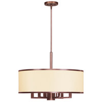 Livex 6296-70 Park Ridge 7 Light 24 inch Vintage Bronze Chandelier Ceiling Light