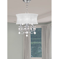 Livex 6303-91 Newcastle 3 Light 13 inch Brushed Nickel Pendant/Ceiling Mount Ceiling Light  alternative photo thumbnail