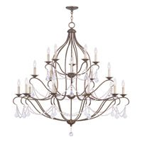 Chesterfield 20 Light 46 inch Venetian Golden Bronze Chandelier Ceiling Light