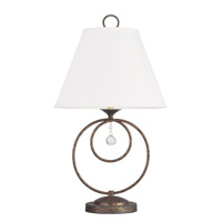Livex Lighting Chesterfield 1 Light Table Lamp in Venetian Golden Bronze 6443-71