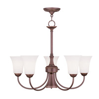 Livex Lighting Ridgedale 6 Light Chandelier in Vintage Bronze 6465-70