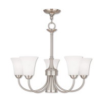 Livex 6465-91 Ridgedale 6 Light 26 inch English Bronze Dinette Chandelier Ceiling Light