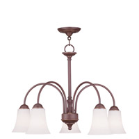 Livex Lighting Ridgedale 5 Light Chandelier in Vintage Bronze 6467-70