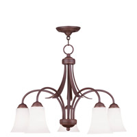 Livex Lighting Ridgedale 5 Light Chandelier in Vintage Bronze 6476-70