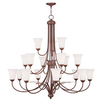 Livex Lighting Ridgedale 18 Light Chandelier in Vintage Bronze 6479-70 photo thumbnail