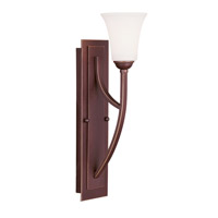 Livex Lighting Ridgedale 1 Light Wall Sconce in Vintage Bronze 6480-70