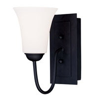 Livex Lighting Ridgedale 1 Light Wall Sconce in Black 6481-04