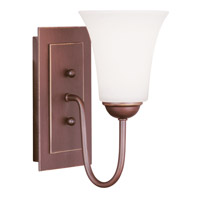 Livex Lighting Ridgedale 1 Light Wall Sconce in Vintage Bronze 6481-70