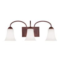 Livex 6483-70 Ridgedale 3 Light 24 inch Vintage Bronze Bath Light Wall Light photo thumbnail