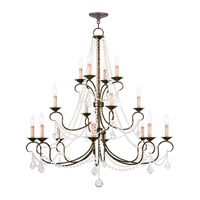 Livex Lighting Pennington 16 Light Chandelier in Venetian Golden Bronze 6520-71