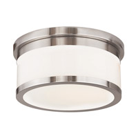 Livex Lighting Steel Stafford Semi-Flush Mounts