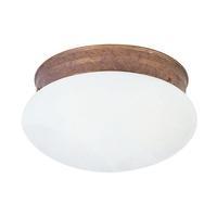 Livex 7002-18 Home Basics 1 Light 8 inch Weathered Brick Ceiling Mount Ceiling Light