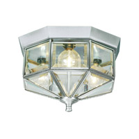 Livex Lighting Home Basics 3 Light Ceiling Mount in Brushed Nickel 7012-91