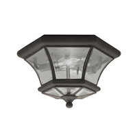 Livex 7052-07 Monterey 2 Light 11 inch Bronze Ceiling Mount Ceiling Light