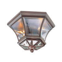 Livex Lighting Monterey 2 Light Ceiling Mount in Imperial Bronze 7052-58