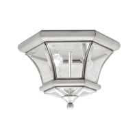 Livex Lighting Monterey 2 Light Ceiling Mount in Brushed Nickel 7052-91