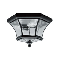 Livex Lighting Monterey 3 Light Ceiling Mount in Black 7053-04