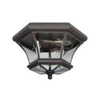 Livex 7053-07 Monterey 3 Light 13 inch Bronze Ceiling Mount Ceiling Light