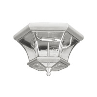Livex Lighting Monterey 3 Light Ceiling Mount in Brushed Nickel 7053-91