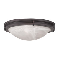 Livex 7059-07 Ariel 3 Light 17 inch Bronze Ceiling Mount Ceiling Light