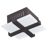 Livex Lighting Odyssey 1 Light Ceiling Mount in Bronze 7083-07