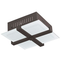 Livex Lighting Odyssey 2 Light Ceiling Mount in Bronze 7084-07