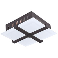 Livex 7085-07 Odyssey 3 Light 14 inch Bronze Ceiling Mount Ceiling Light