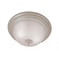 Livex Signature 2 Light Flush Mount in Fossil Stone 7113-15