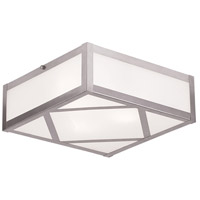 Livex 7133-91 Viper 3 Light 11 inch Ceiling Mount Ceiling Light