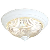 Signature 2 Light 13 inch Textured White Ceiling Mount Ceiling Light
