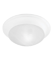 Livex 7301-03 Signature 1 Light 10 inch White Ceiling Mount Ceiling Light