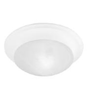 Livex 7301-03 Signature 1 Light 10 inch White Ceiling Mount Ceiling Light