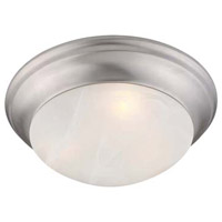 Livex 7304-91 Coronado 3 Light 17 inch Brushed Nickel Ceiling Mount Ceiling Light alternative photo thumbnail