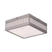 Prentice 3 Light 11 inch Brushed Nickel Flush Mount Ceiling Light