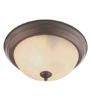 Manchester 3 Light 15 inch Imperial Bronze Ceiling Mount Ceiling Light