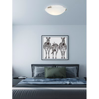 Livex 7324-91 Signature 2 Light 12 inch Brushed Nickel Ceiling Mount Ceiling Light alternative photo thumbnail