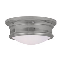 Livex Lighting Signature 2 Light Ceiling Mount in Chrome 7341-05