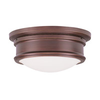 Livex Lighting Signature 2 Light Ceiling Mount in Vintage Bronze 7341-70 photo thumbnail