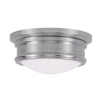 Livex 7341-91 Signature 2 Light 11 inch Brushed Nickel Ceiling Mount Ceiling Light