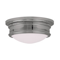 Livex 7342-05 Signature 2 Light 13 inch Polished Chrome Ceiling Mount Ceiling Light