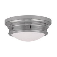 Livex Lighting Signature 3 Light Ceiling Mount in Chrome 7343-05