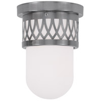 Livex Lighting Westfield 1 Light Ceiling Mount in Brushed Nickel 7350-91