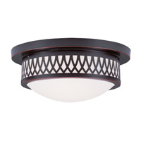 Livex 7352-67 Westfield 2 Light 13 inch Olde Bronze Ceiling Mount Ceiling Light photo thumbnail