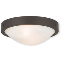 Livex 73951-07 New Brighton 2 Light 12 inch Bronze Flush Mount Ceiling Light