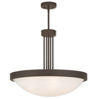 Livex 73965-07 New Brighton 5 Light 24 inch Bronze Pendant Ceiling Light