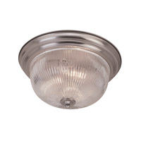Livex Lighting Signature 2 Light Ceiling Mount in Brushed Nickel 7411-91